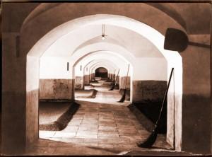 Tenne der Augustinerbräu-Mälzerei um 1890