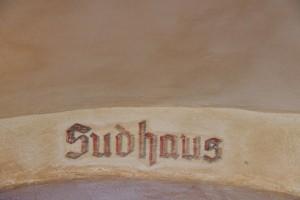 Sudhaus-Schild