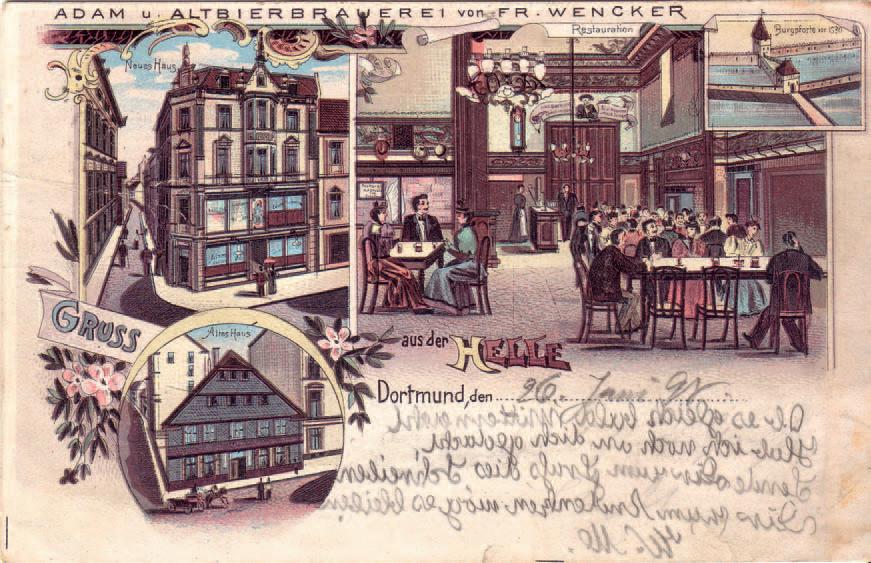 Postkarte, 1898