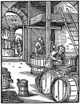 Bierbrauer im 16. Jahrhundert