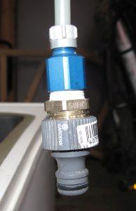 Ein kreativer Gardena-auf-6mm-Adapter