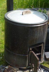 Bild 1 : 100 Liter DDR-Waschkessel aus Blech