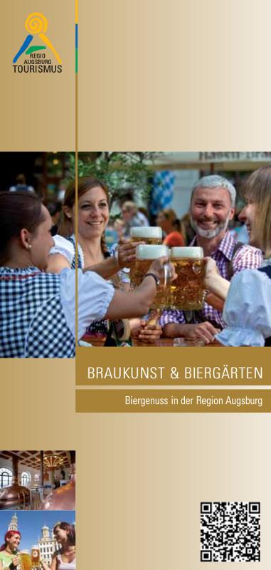 """Broschüre """"Braukunst & Biergärten"""""""