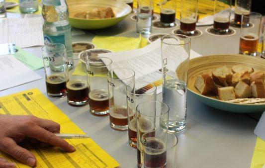Blick hinter die Kulissen beim European Beer Star Verkostung in der Doemens-Akademie Gräfelfing