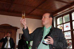 Erster Biersommelier-Weltmeister Karl Schiffner