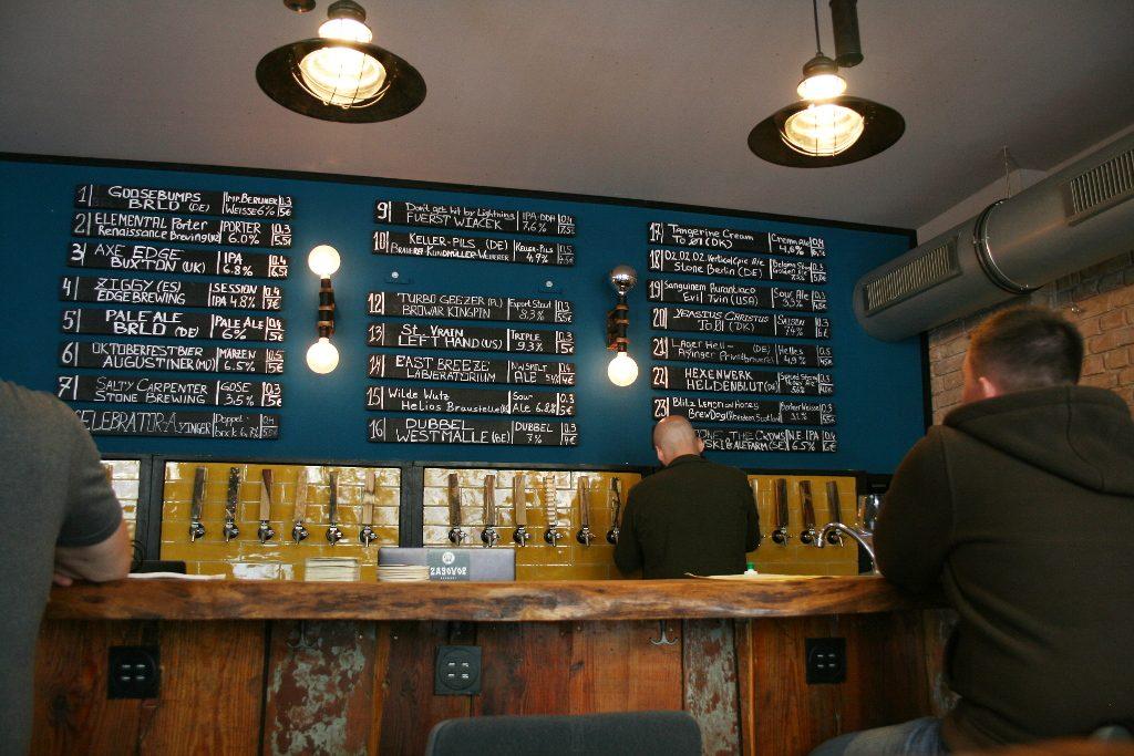 Bier aus 24 Hähnen