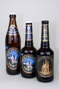 Die Serie der Neuschwanstein-Biere