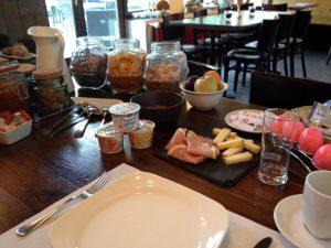 Frühstück im Le Besso