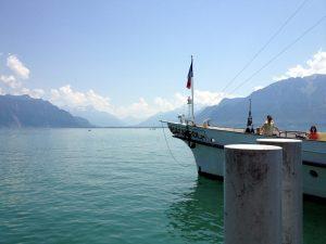 Überfahrt über den Genfer See