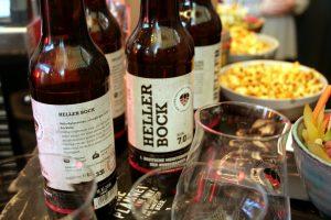 Sieger-Bock in Flaschen