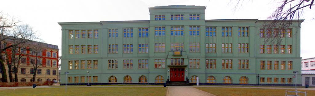 Hauptgebäude am Campus Köthen