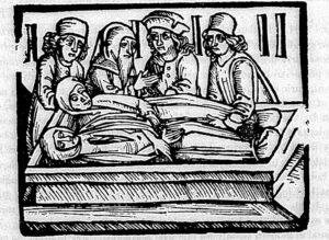 Opfer der Schweisskrankheit